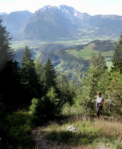 Foto: Wolfgang Lauschensky / Wander Tour / Schwarzerberg-Runde von Unterscheffau / Göll / 09.10.2009 18:33:21