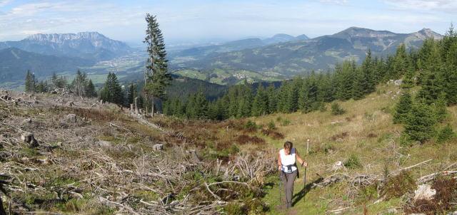 Foto: Wolfgang Lauschensky / Wander Tour / Schwarzerberg-Runde von Unterscheffau / Untersberg bis Schmittenstein / 09.10.2009 18:32:53
