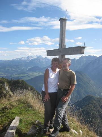 Foto: Wolfgang Lauschensky / Wander Tour / Schwarzerberg-Runde von Unterscheffau / Dachsteinblick / 09.10.2009 18:32:28