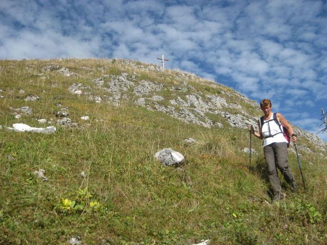 Foto: Wolfgang Lauschensky / Wander Tour / Schwarzerberg-Runde von Unterscheffau / Gipfelhang / 09.10.2009 18:32:06