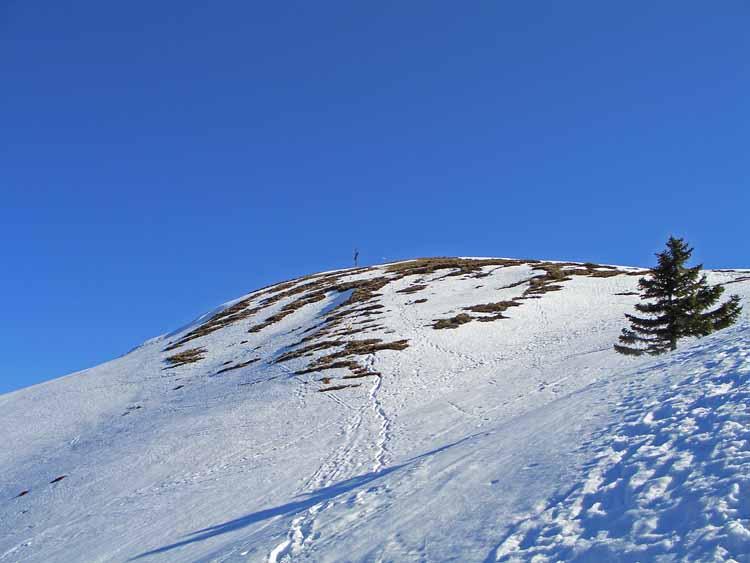 Foto: vince 51 / Schneeschuh Tour / Hohe Kugel / Gipfel fast erreicht / 12.10.2009 23:18:27