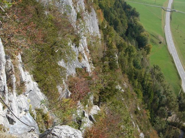 Foto: Manfred Karl / Klettersteig Tour / Klettersteig Burgstall / 13.10.2009 21:47:49