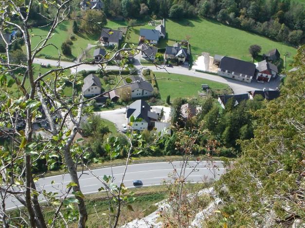 Foto: Manfred Karl / Klettersteig Tour / Klettersteig Burgstall / Untergrimming / 13.10.2009 21:47:32