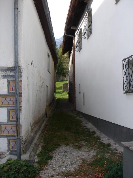 Foto: Manfred Karl / Klettersteig Tour / Klettersteig Burgstall / Ausstieg in den Ort Pürgg / 13.10.2009 21:46:39