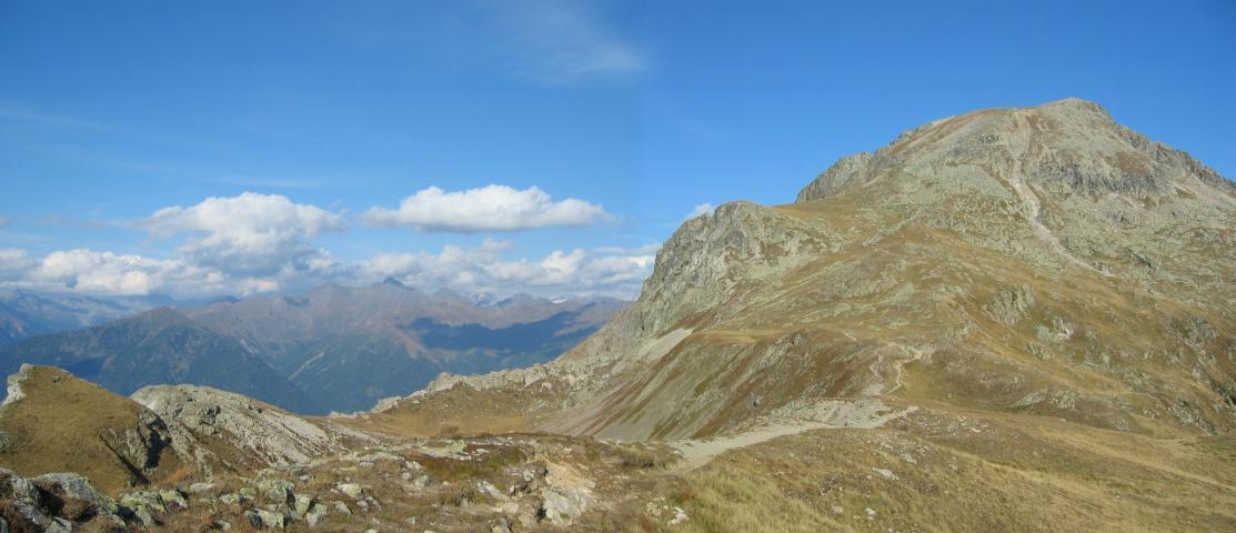 Foto: pepi4813 / Wander Tour / Vom Penser Joch zur Tatschspitze / Auf dem Weg zur Tatschspitze / 14.10.2009 20:11:03