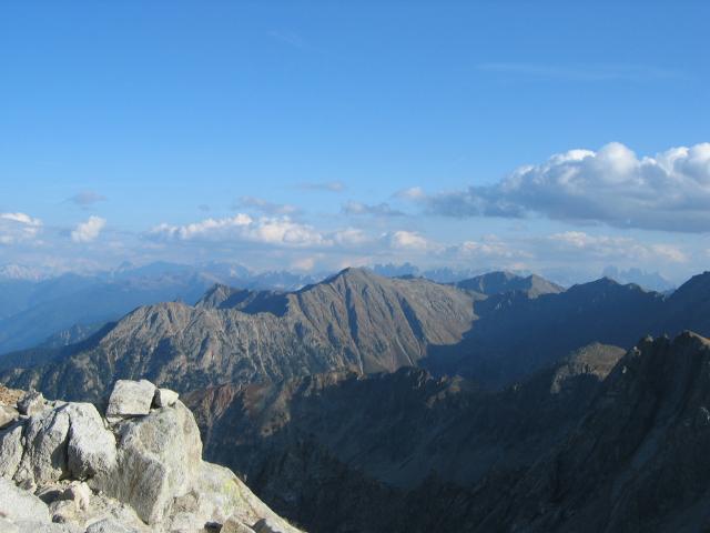 Foto: pepi4813 / Wander Tour / Vom Penser Joch zur Tatschspitze / Blick von der Tatschspitze nach Südosten / 14.10.2009 20:10:48