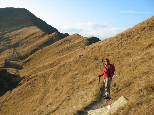 Foto: pepi4813 / Wander Tour / Vom Penser Joch zur Tatschspitze / Am Rückweg zum Penser Joch Weg 14 A / 14.10.2009 20:08:51