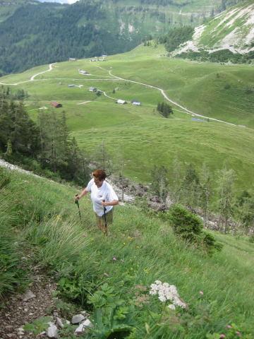 Foto: Wolfgang Lauschensky / Wander Tour / Holzeck - Königsberghorn / Genneralm / 17.10.2009 16:02:06