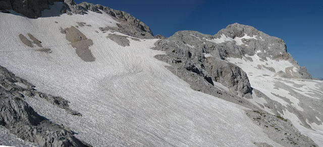 Foto: Wolfgang Lauschensky / Wander Tour / Cmir (2393m) / Abstieg von der Triglavhütte zur Stanicahütte / 17.10.2009 18:41:19