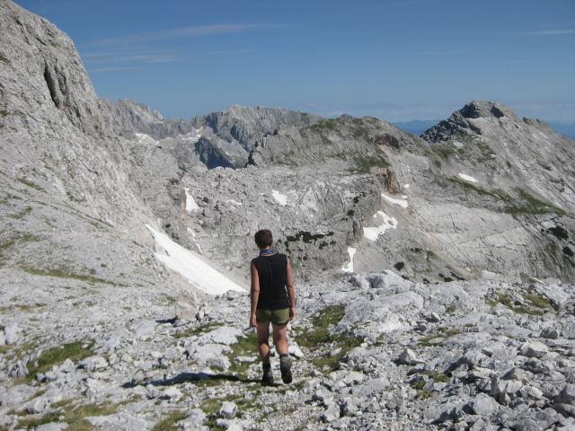 Foto: Wolfgang Lauschensky / Wander Tour / Cmir (2393m) / der Cmir-Kamm, ganz rechts der Cmirgipfel / 17.10.2009 18:41:11