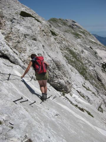 Foto: Wolfgang Lauschensky / Wander Tour / Cmir (2393m) / gesicherte Platten / 17.10.2009 18:41:00