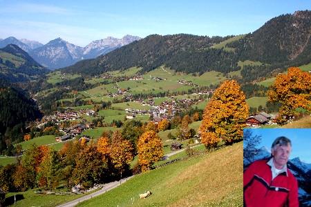 Foto: bergsepp / Mountainbike Tour / Bergwandertouren mit dem Alpinroller in Bergbahnnähe,  mind. ein 3 Tageskurs zum anlernen / Herbststimmung gegen das äussere Alpbachtal in Richtung Karwendel und Rofangebirge / 18.10.2009 00:46:09