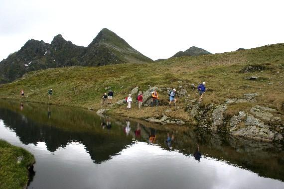 Foto: bergsepp / Mountainbike Tour / Bergwandertouren mit dem Alpinroller in Bergbahnnähe,  mind. ein 3 Tageskurs zum anlernen / Vorbei an der Bachlerfilzlacke gegen die Sagtalerspitzen / 18.10.2009 00:38:39