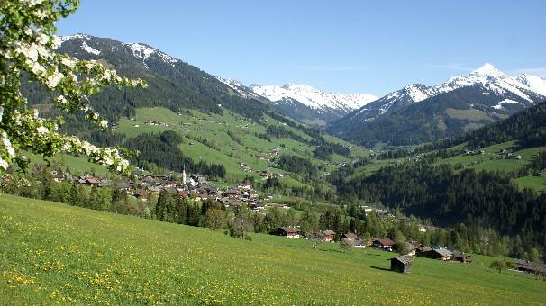 Foto: bergsepp / Mountainbike Tour / Bergwandertouren mit dem Alpinroller in Bergbahnnähe,  mind. ein 3 Tageskurs zum anlernen / Alpbach, das schönste Dorf Österreichs als ideales Ferienziel, vom Schatzberg bis zum Galtenberg / 18.10.2009 00:57:58
