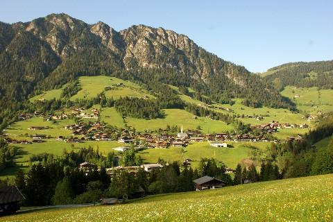 Foto: bergsepp / Mountainbike Tour / Bergwandertouren mit dem Alpinroller in Bergbahnnähe,  mind. ein 3 Tageskurs zum anlernen / Alpbach mit der Gratlspitz / 18.10.2009 00:48:33