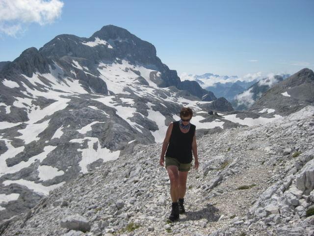 Foto: Wolfgang Lauschensky / Wander Tour / Rjavina 2532m / Stanicahütte und Triglav / 18.10.2009 12:13:54