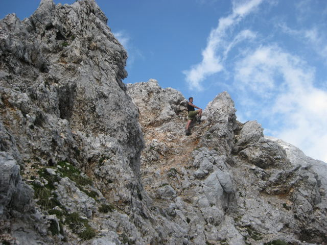 Foto: Wolfgang Lauschensky / Wander Tour / Rjavina 2532m / zwischen den Gipfeln / 18.10.2009 12:08:59