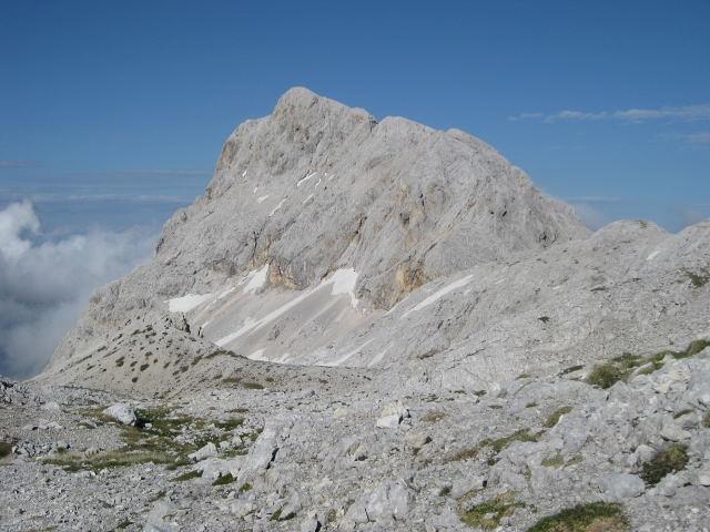 Foto: Wolfgang Lauschensky / Wander Tour / Rjavina 2532m / Rjavina von der Stanicahütte aus gesehen / 18.10.2009 12:08:31