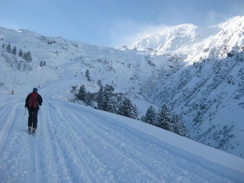 Foto: Wolfgang Lauschensky / Ski Tour / Pfaffenbichl 2431m / zur Lamargalm / 18.10.2009 18:13:09