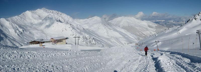Foto: Wolfgang Lauschensky / Ski Tour / Pfaffenbichl 2431m / Lamargalm und Gilfert / 18.10.2009 18:12:57