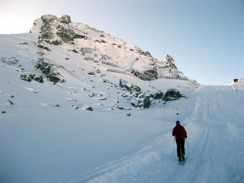 Foto: Wolfgang Lauschensky / Ski Tour / Pfaffenbichl 2431m / Pfaffenbichl / 18.10.2009 18:12:46