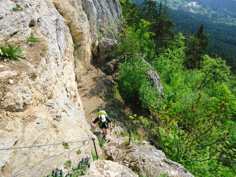 Hohe Wand Klettersteig : Hegyvilág online galéria gebirgsvereins klettersteig