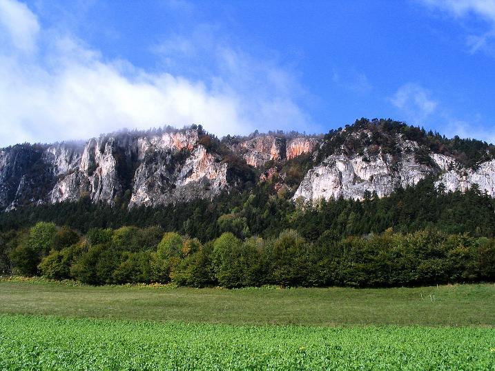 Foto: Andreas Koller / Klettersteig Tour / Hanselsteig und Leiterlsteig (870m) / 19.10.2009 19:38:07