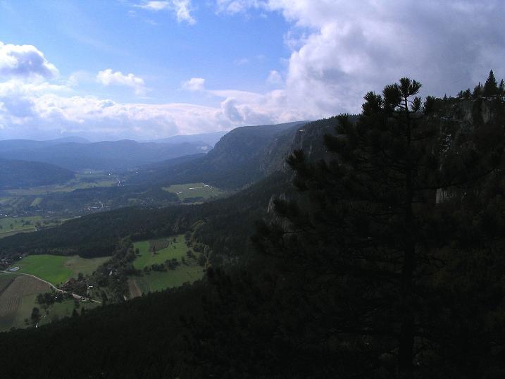 Foto: Andreas Koller / Klettersteig Tour / Hanselsteig und Leiterlsteig (870m) / 19.10.2009 19:32:19