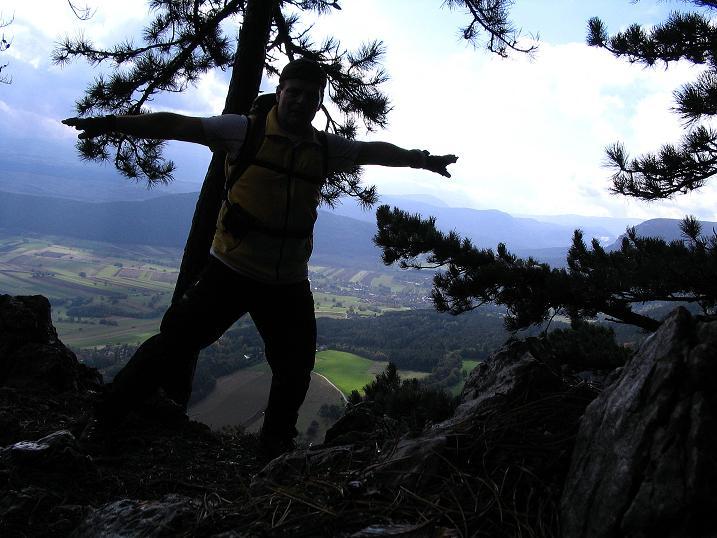 Foto: Andreas Koller / Klettersteig Tour / Hanselsteig und Leiterlsteig (870m) / 19.10.2009 19:31:53