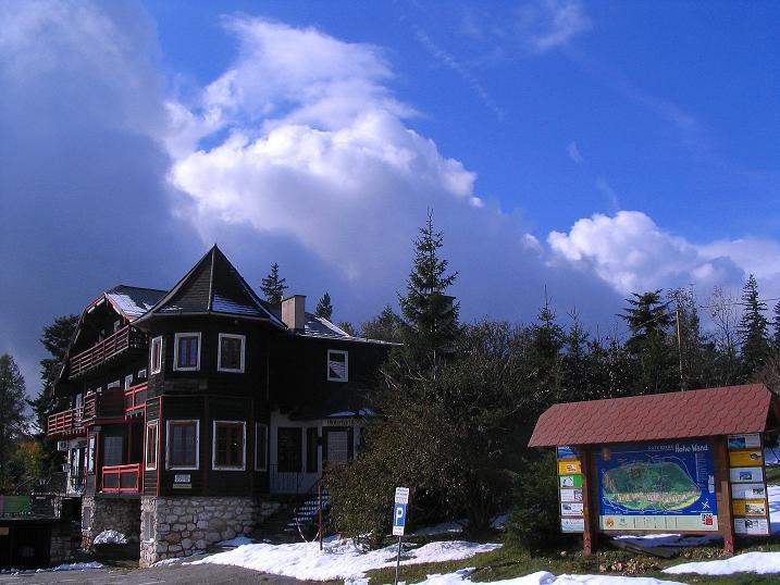 Foto: Andreas Koller / Klettersteig Tour / Hanselsteig und Leiterlsteig (870m) / Kohlröserlhaus / 19.10.2009 19:31:20