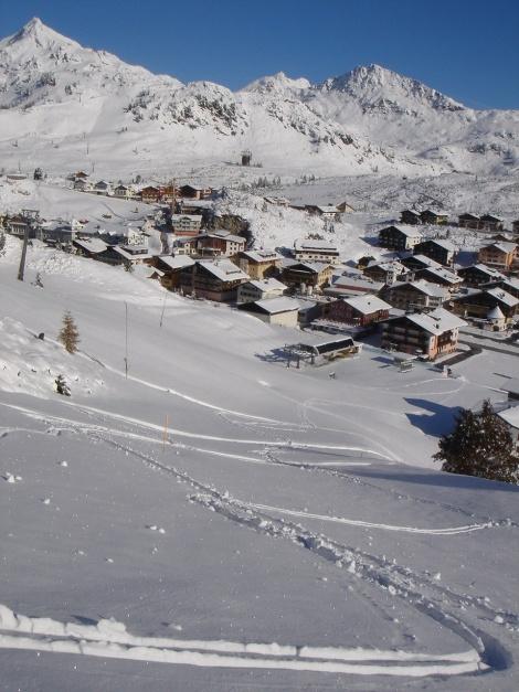 Foto: Manfred Karl / Ski Tour / Gamsleitenspitze, 2359 m / Wintereinbruch im Oktober am Obertauern / 21.10.2009 21:33:27