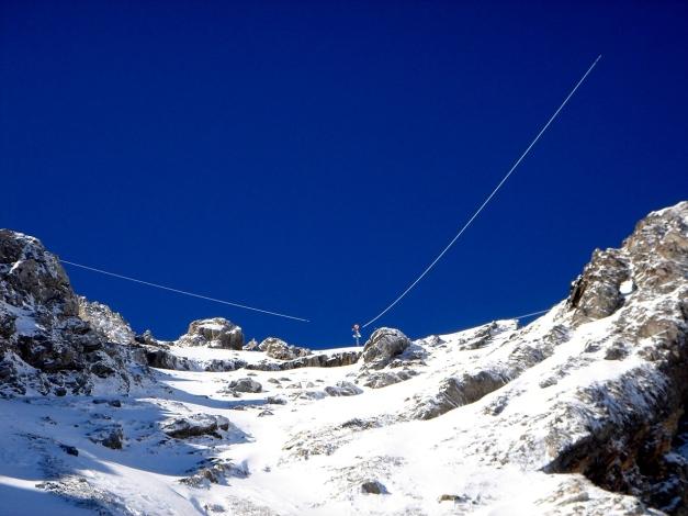 Foto: Manfred Karl / Ski Tour / Gamsleitenspitze, 2359 m / Indischer Seiltrick / 21.10.2009 21:31:15