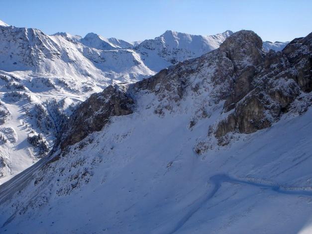 Foto: Manfred Karl / Ski Tour / Gamsleitenspitze, 2359 m / Herbertspitze / 21.10.2009 21:30:51