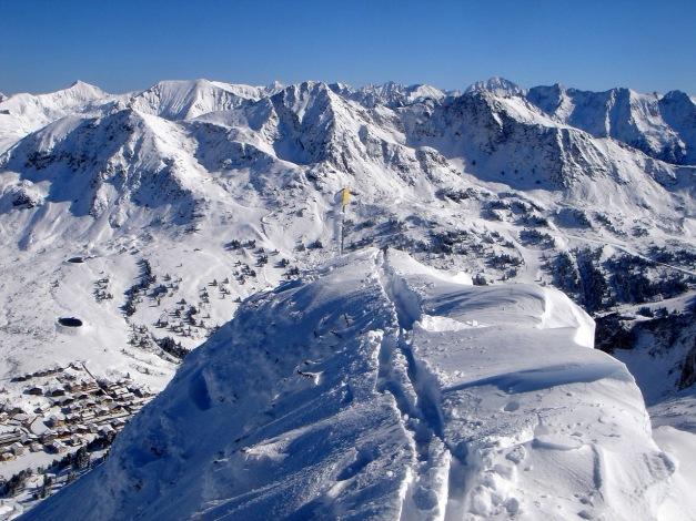 Foto: Manfred Karl / Ski Tour / Gamsleitenspitze, 2359 m / Gamsleiten-Gipfel / 21.10.2009 21:26:41