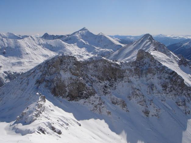 Foto: Manfred Karl / Ski Tour / Gamsleitenspitze, 2359 m / Gurpitscheck - Kesselspitzen / 21.10.2009 21:26:10