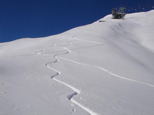 Foto: Manfred Karl / Ski Tour / Gamsleitenspitze, 2359 m / 21.10.2009 21:23:50