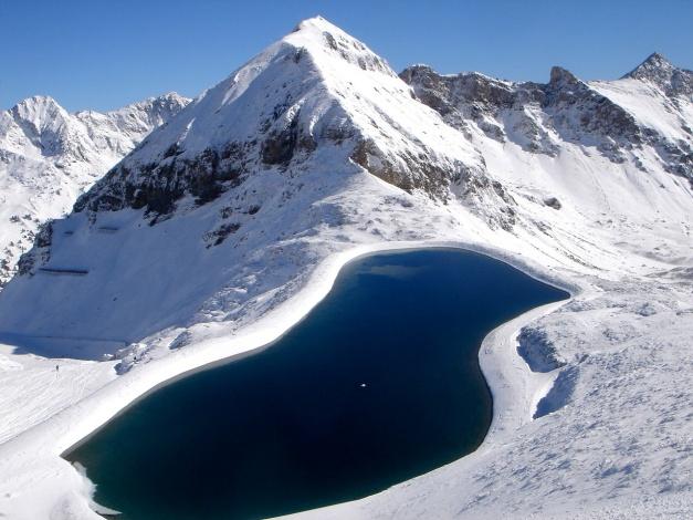 Foto: Manfred Karl / Ski Tour / Gamsleitenspitze, 2359 m / Zehnerkar - Gamsspitzl, Blick zur Gamsleitenspitze / 21.10.2009 21:22:55