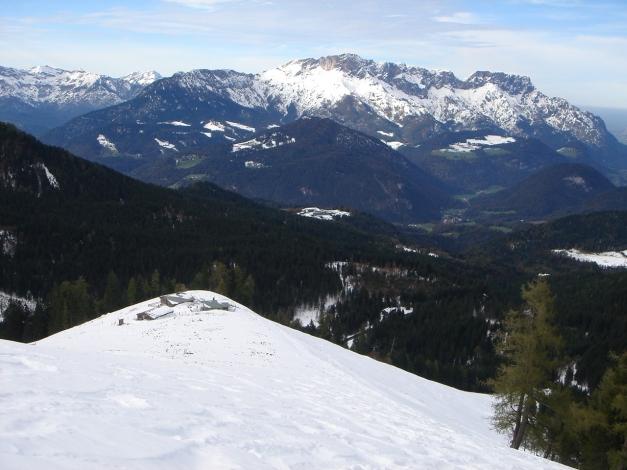Foto: Manfred Karl / Ski Tour / Eckerleiten - Purtschellerhaus / Eckeralmen / 25.10.2009 16:41:05
