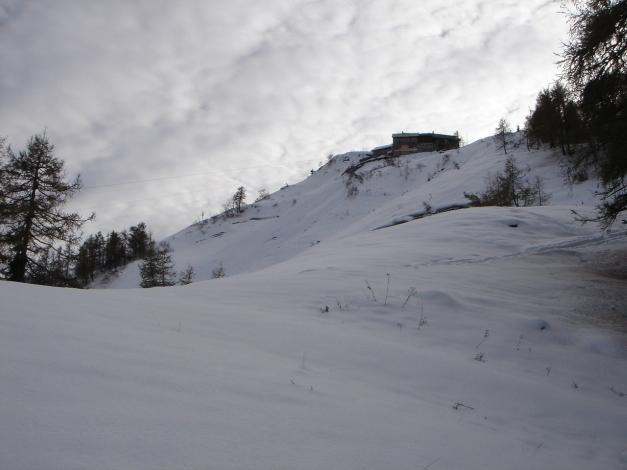 Foto: Manfred Karl / Ski Tour / Eckerleiten - Purtschellerhaus / Purtschellerhaus / 25.10.2009 16:40:48