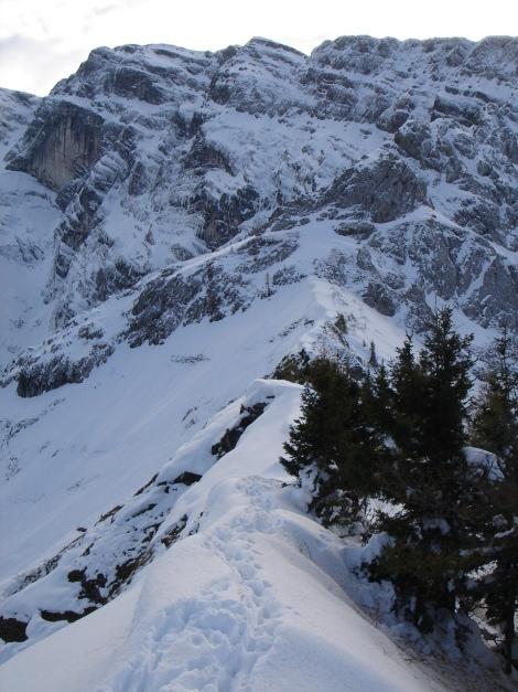 Foto: Manfred Karl / Ski Tour / Eckerleiten - Purtschellerhaus / Hoher Göll / 25.10.2009 16:39:37