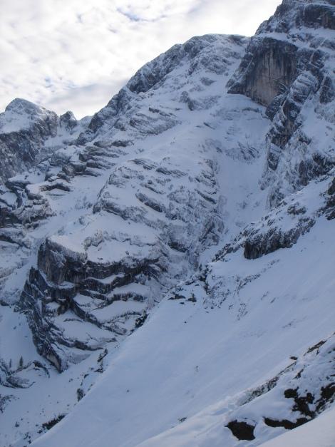 Foto: Manfred Karl / Ski Tour / Eckerleiten - Purtschellerhaus / Hoher Göll Ostwand / 25.10.2009 16:39:14