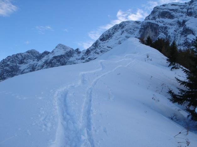 Foto: Manfred Karl / Ski Tour / Eckerleiten - Purtschellerhaus / Eckerfirst / 25.10.2009 16:36:27