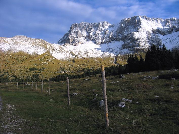 Foto: Andreas Koller / Klettersteig Tour / Leiternweg durch die Südwand auf den Montasch (2753m) / 27.10.2009 22:23:43