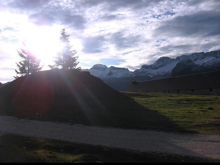 Foto: Andreas Koller / Klettersteig Tour / Leiternweg durch die Südwand auf den Montasch (2753m) / 27.10.2009 22:23:18