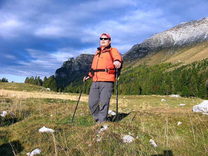 Foto: Andreas Koller / Klettersteig Tour / Leiternweg durch die Südwand auf den Montasch (2753m) / 27.10.2009 22:23:12