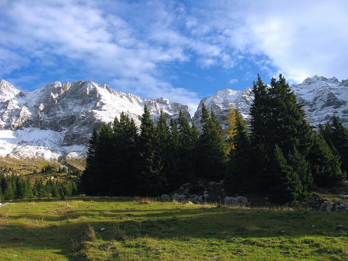 Foto: Andreas Koller / Klettersteig Tour / Leiternweg durch die Südwand auf den Montasch (2753m) / 27.10.2009 22:22:52