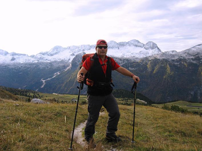 Foto: Andreas Koller / Klettersteig Tour / Leiternweg durch die Südwand auf den Montasch (2753m) / 27.10.2009 22:22:24