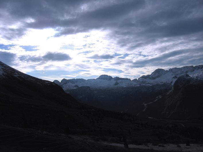 Foto: Andreas Koller / Klettersteig Tour / Leiternweg durch die Südwand auf den Montasch (2753m) / 27.10.2009 22:22:17