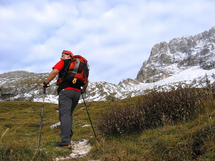 Foto: Andreas Koller / Klettersteig Tour / Leiternweg durch die Südwand auf den Montasch (2753m) / 27.10.2009 22:21:55