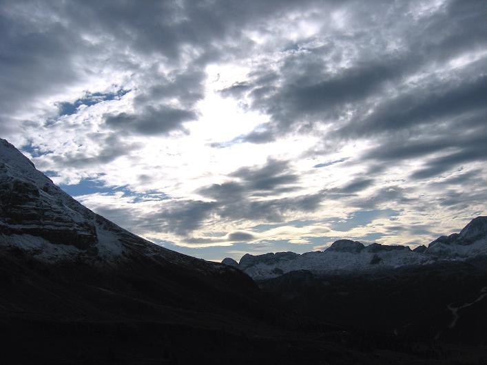 Foto: Andreas Koller / Klettersteig Tour / Leiternweg durch die Südwand auf den Montasch (2753m) / 27.10.2009 22:21:46